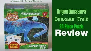 Argentinosaurs Dinosaur Train 24 Piece Puzzle Review