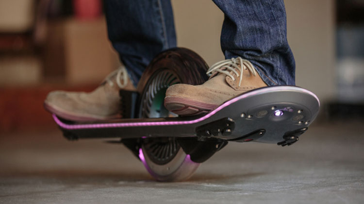 A really cool hoverboard