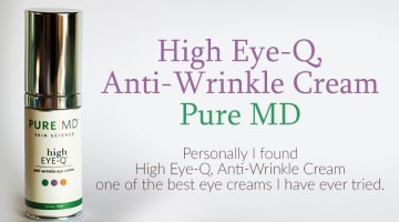 High Eye-Q, Anti-Wrinkle Cream from Pure MD Skin Science